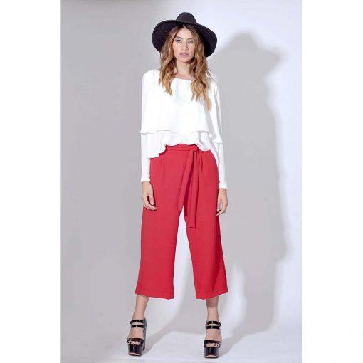 Pantalón Amy colorado